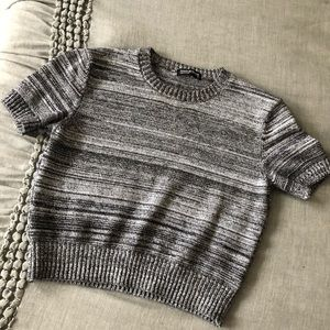 American Apparel Cotton Crop Sweater